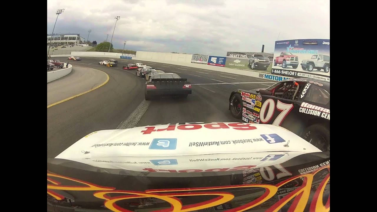 Austin 39 S First Race At Motor Mile Youtube