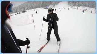 Poland - Learning how to Ski (Fails) ⛷