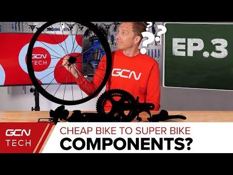 Groupset, Components & Plot Twist | Cheap Bike To Super Bike Ep. 3