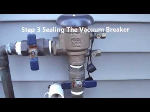 How To Turn On An Irrigation System