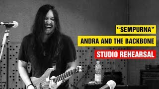 Gambar cover Sempurna Andra and The Backbone Studio Rehearsal HD LIVE