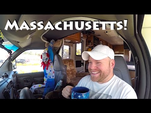 Halloween Costumes, Into Massachusetts, & River Camping