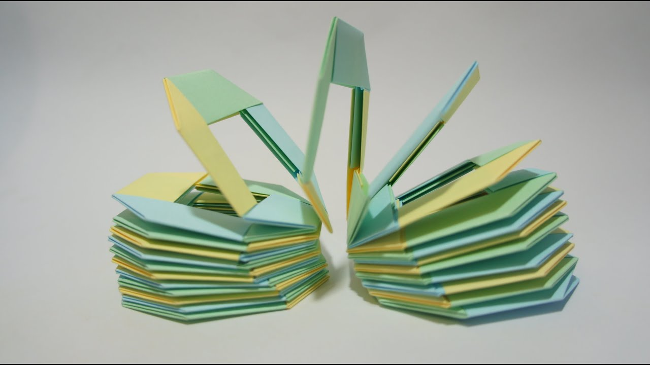 Origami Flower With Post It Notes