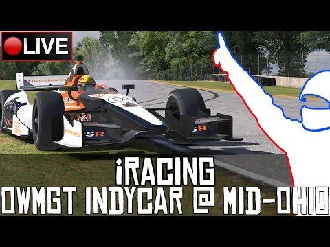 iRacing || IndyCar #OWMGT @MundoGT (Ronda 1/5: Mid-Ohio) || LIVE