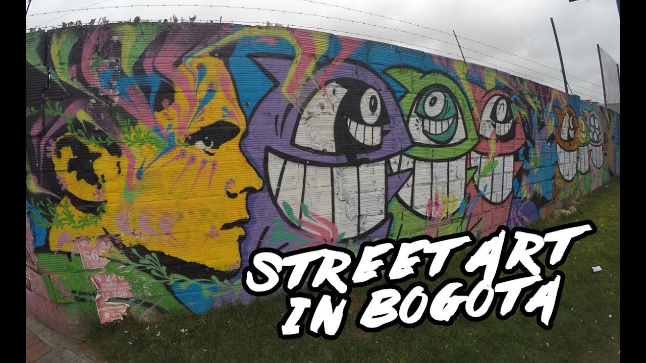 Episode 16 about street art in bogota colombia