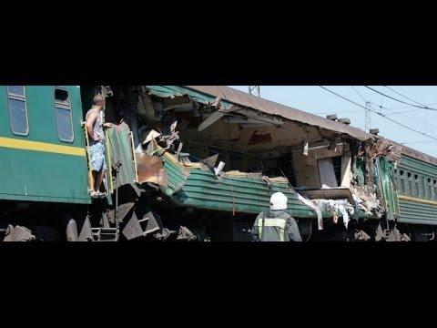 Trenul Moscova-Chisinau, implicat intr-o COLIZIUNE in Rusia