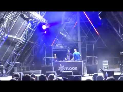 Pinch b2b Distance (Deleted Scenes) @ DMZ10, The Clearing, Outlook Festival 2015