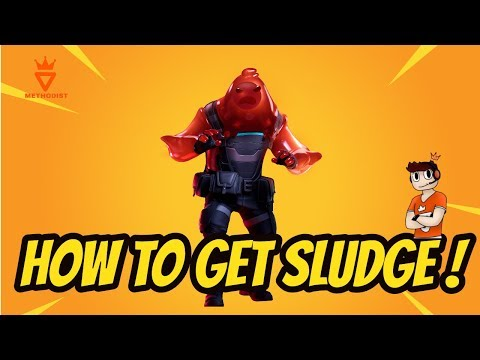How To Get Sludge ! - Ripley Vs Sludge Red Skin - Fortnite Chapter 2