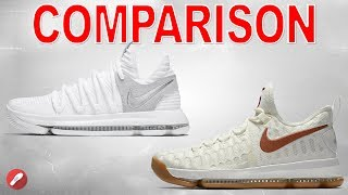 Nike Kd 9 & Kd X (10) Comparison! What's Different?!