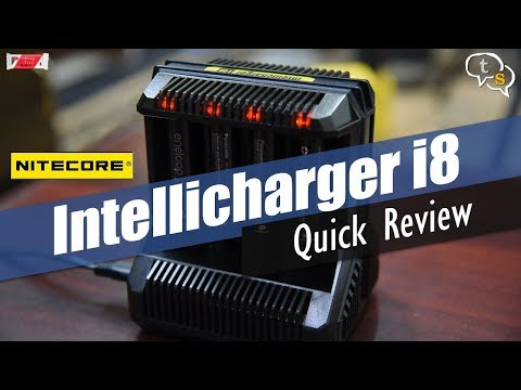 Nitecore Intellicharger I8 Review | 8 Bay Charger | Multi Battery Support
