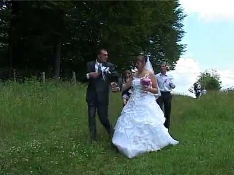 Вот это невеста! Бой баба!