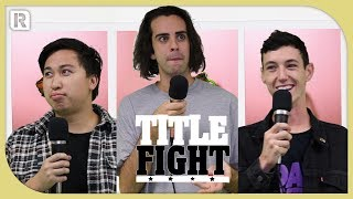 How Many With Confidence Songs Can The Band Name In 1 Minute? - Title Fight