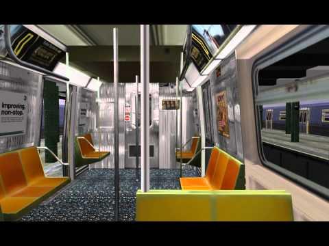 OpenBVE HD: R68 (D) 205 St, Bronx to Stillwell Av