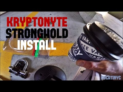 Kryptonite Stronghold Install