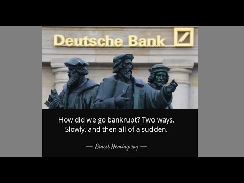 MACRO ANALYTICS - 09-29-16 - Deutsche Bank & Signs of Panic! - w/John Rubino
