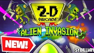 *NEW* ALIEN INVASION MINECRAFT 2-D GAME?! CRAZY NEW MINECRAFT MAP!