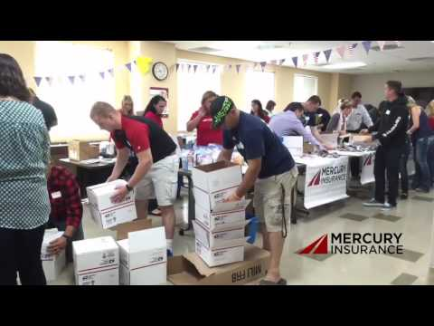 Mercury Insurance Employees Say 'Thank You' To Troops