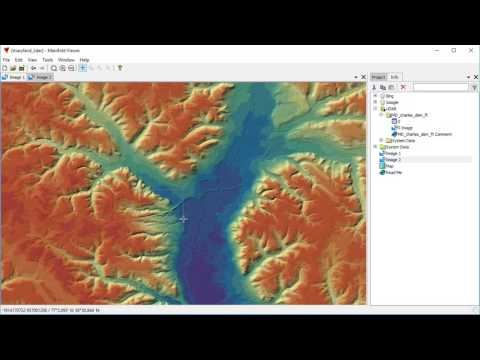 Maryland LiDAR Sample Map