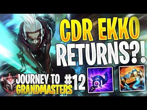 Maxske's Ekko | CDR EKKO! | JOURNEY TO GRANDMASTERS AS EKKO! #12