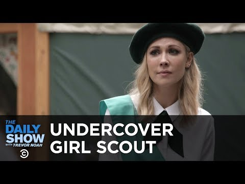 Undercover Girl Scout | The Daily Show