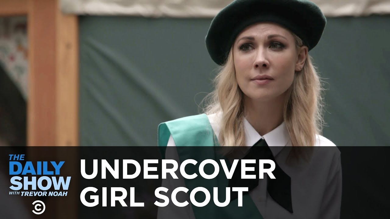 Undercover Girl Scout   The Daily Show