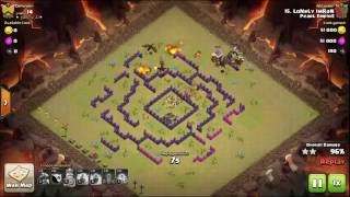 Clash of Clans PERFECT WARS! 3 Star Attacks Every Time!