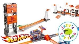 Cars for Kids | Hot Wheels Construction Crash Toys with Fast Lane | Fun Toy Cars for Kids