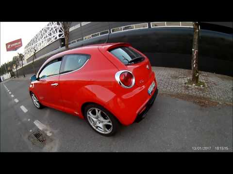 Alfa Mito 14 TB Decat exhaust sound