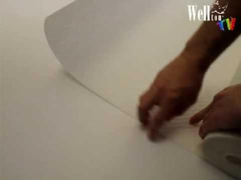 Как правильно клеить стеклообои, чтобы не появились стыки между полотнами
