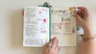 how i use the bullet journal system