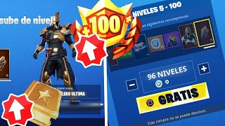 *RAPID* Fortnite is REGALING LEVELS and BATTLE PASS X for FREE!!! (Season 10 Free Levels)