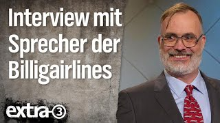 Verbandssprecher der Billigairlines im Interview