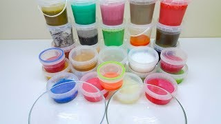 30 Çeşit Slime ile Dev Slime Çorbası - 30 kinds of slime with slime soup