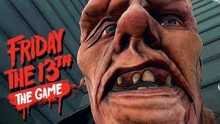 Friday The 13th The Game Gameplay German - Was für ein ARSCH!!!!