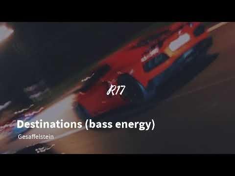 Destinations bass energy Gesaffelstein
