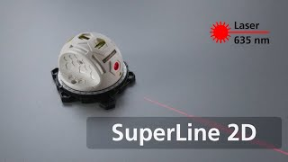 Linienlaser - SuperLine 2D - 081.110A