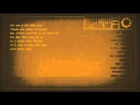 Portal 2 - Want You Gone (No Vocals)
