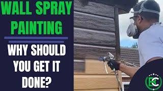 Wall Spray Painting | 🎨 Cladding Spray Painting 🎨 | uPVC Spray Painters Near Me