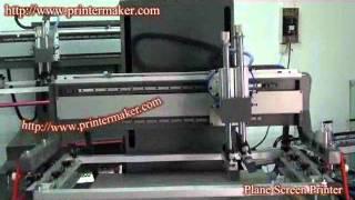 Flatbed Silk Screen Printing Machine,flatbed Screen Printing Machine