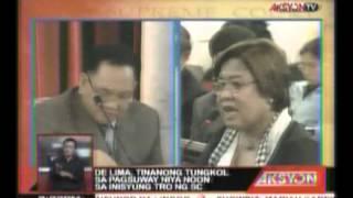 PCGG Chaairman Bautista, nagmungkahi ng pitong taon term limit sa Chief Justice