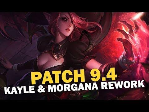 Scarra's Patch 9.4 Rundown + Kayle & Morgana Rework