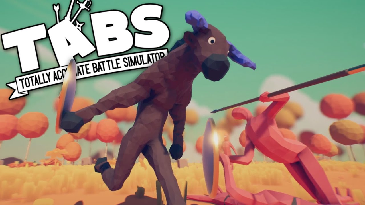 TABS GAME  Totally Accurate Battle Simulator