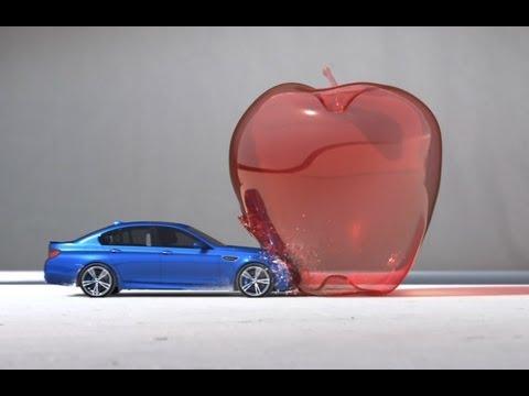 "画像: BMW M5 - ""Bullet"" - High Performance Art youtu.be"