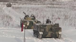 Ротное тактическое учение с десантниками Ульяновского соединения ВДВ