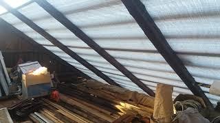 Что произошло без гидроизоляции,крыша без гидроизоляции,что если не сделать гидроизоляцию. Часть 2.