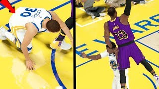 LeBron ENDED HIS CAREER! BRUTAL DUNK in the WESTERN CONFERENCE FINALS! NBA 2k19 My CAREER Ep. 63