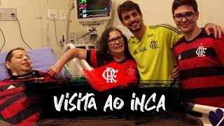 Especial - Rodrigo Caio visita o rubro-negro Rogério Imbroisi no Inca thumbnail