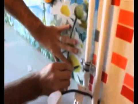 Монтаж стеклянного фартука для кухни Стекло НН