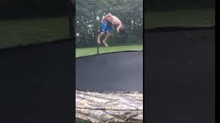 Me doing a front flip
