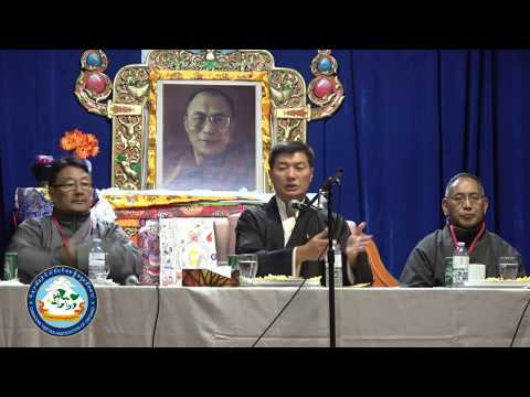 Sikyong Dr. Lobsang Sangay | Answering Question from Public